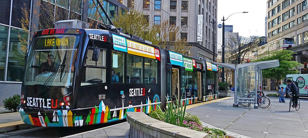 Photo of Seattle Streetcar at Westlake Station