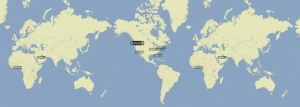 Photo of world map with Give Big trend