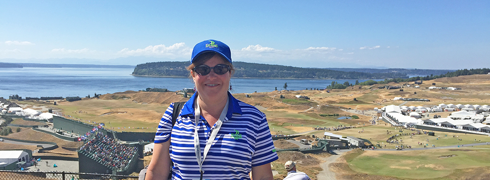 Photo of Volunteer at US Open at Chambers Bay