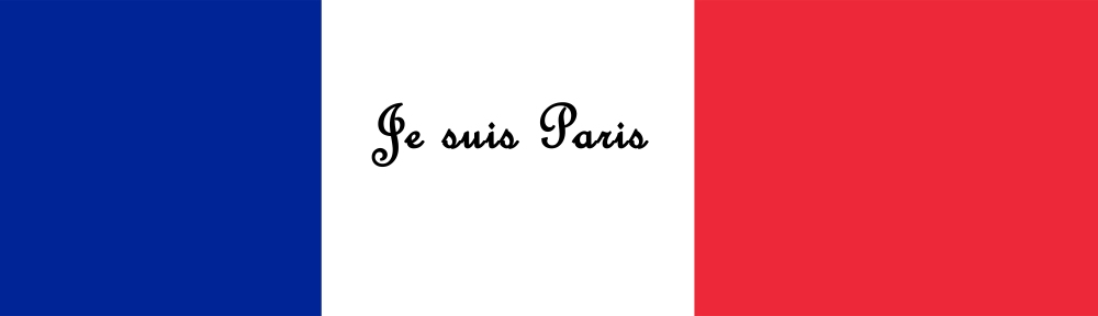 Header for Je suis Paris