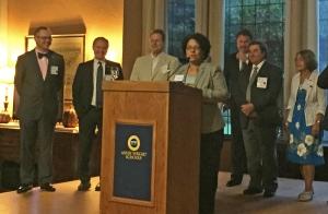 Photo of Mayor Strickland speaking