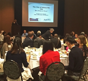 Photo of trade and investment lunch