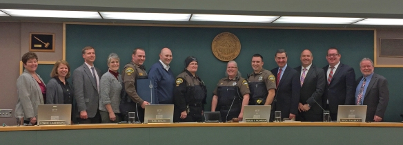 Photo of Animal Control Officers Recognition Week.