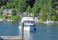 Bringing boat to tour-lr