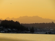 Gig Harbor at sunset-lr