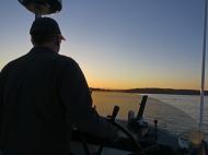 Returning at sunset-lr