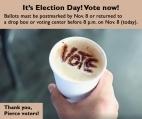 Coffee Vote-11-8-16