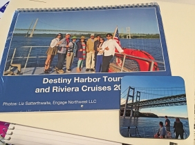 Photo of calendar for Destiny Harbor Tours