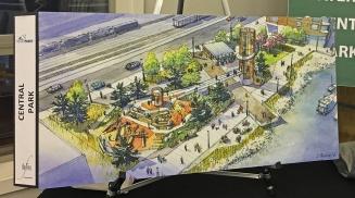 Central Park proposed design.
