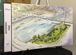 Waterway Park proposed design.