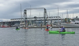 Photo of kayak class